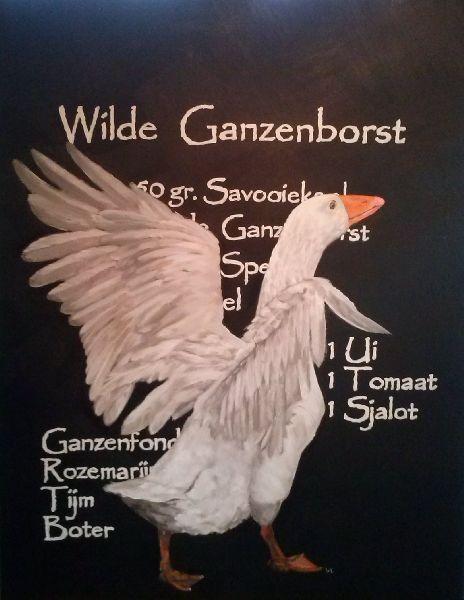 Wilde Ganzenborst