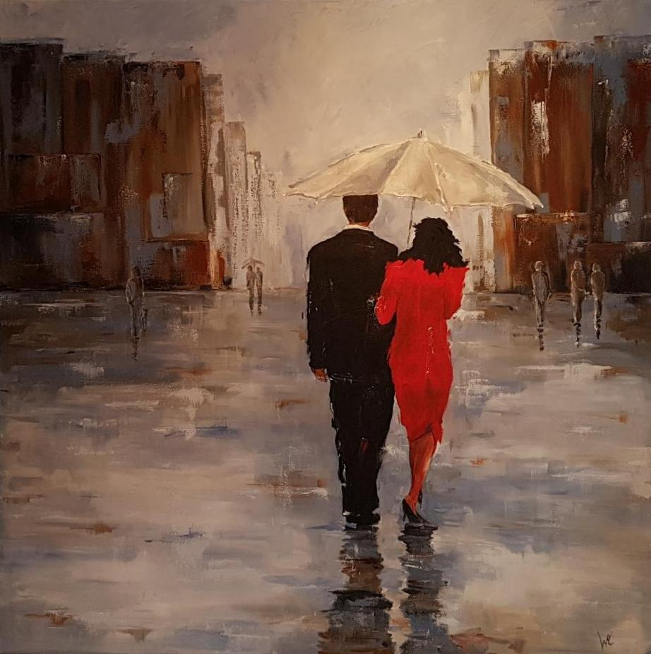 """""""Walkin'  the rain"""""""