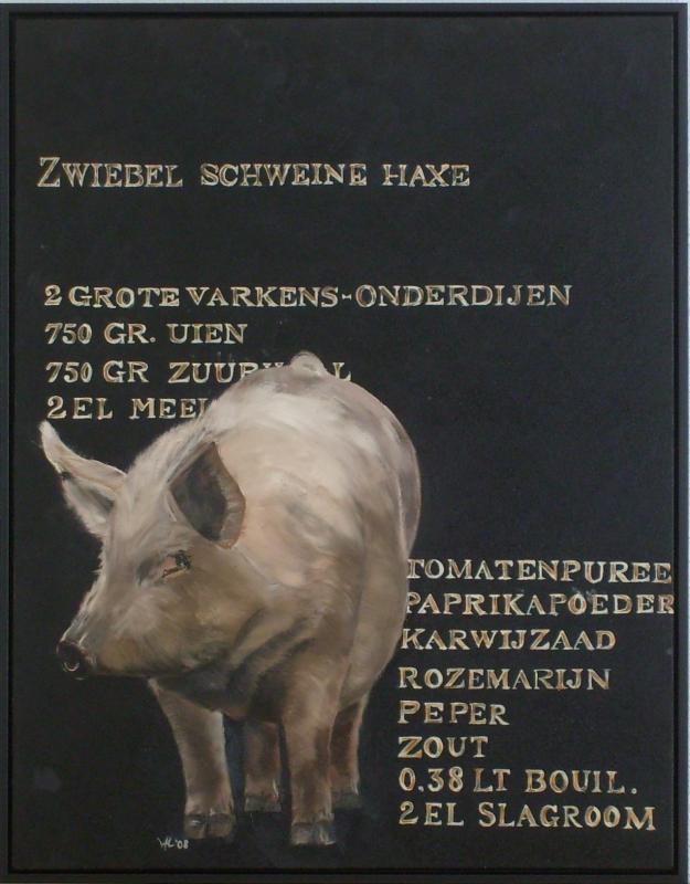"""""""Zwiebel Schweine Haxe"""""""