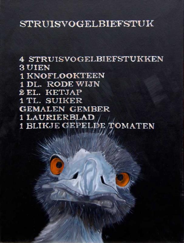 """""""Struisvogelbiefstuk"""""""