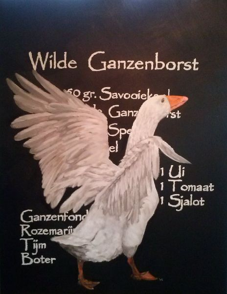 """Wilde Ganzenborst"""