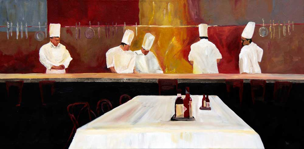 diner at a restaurant nieuw