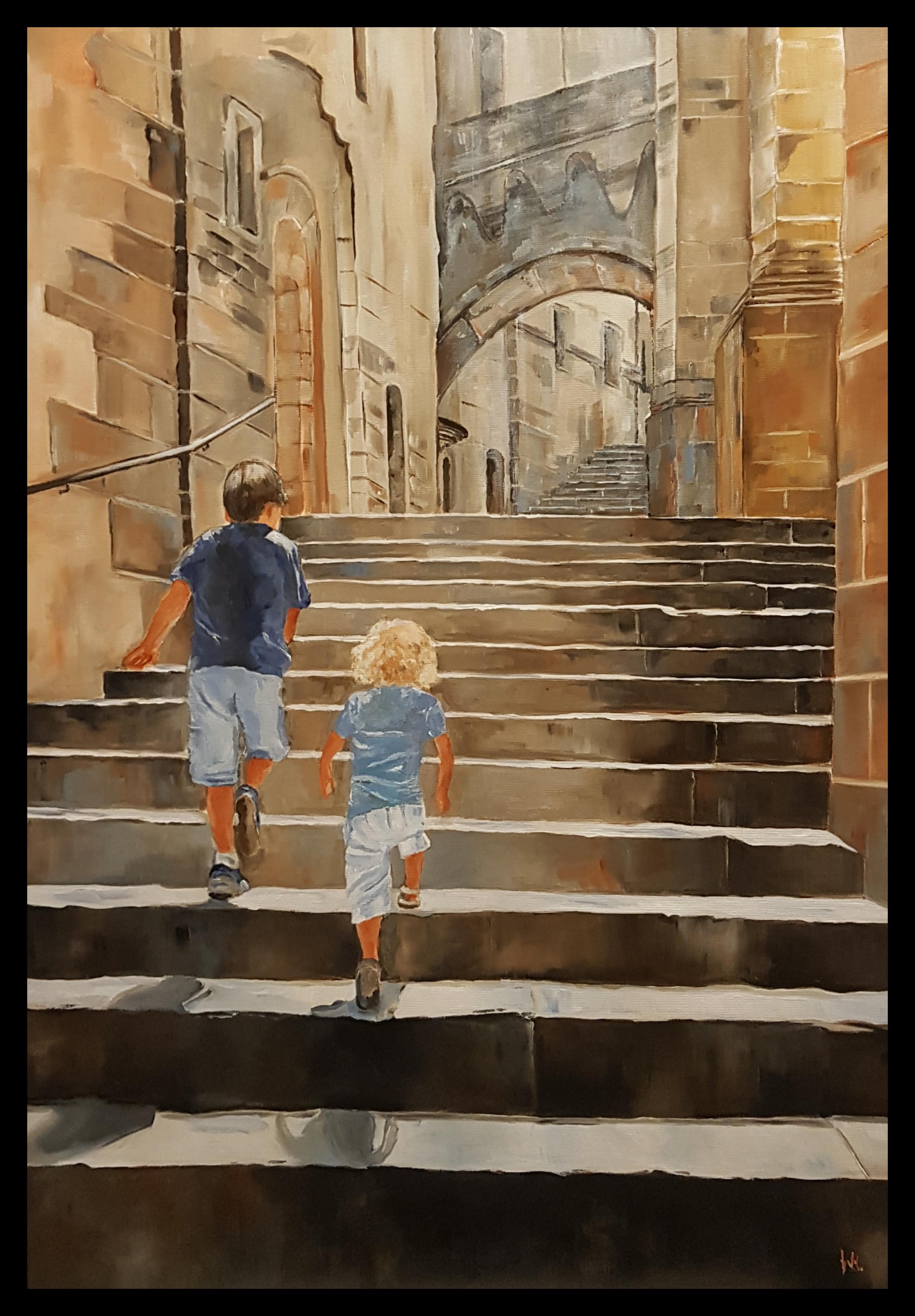 Spiksplinternieuw In opdracht uw kinderen of kleinkinderen laten schilderen QS-55